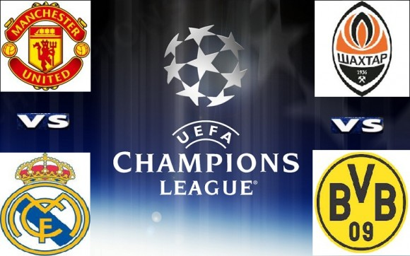 UEFA Champions League action today.