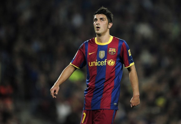 Juventus May Bid For Barcelona Striker David Villa In Summer