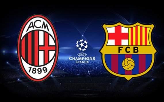 Barcelona vs Milan : History