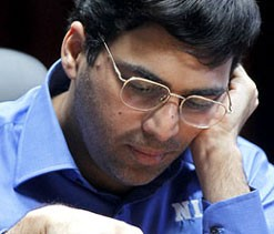 Viswanathan Anand draws with Kramnik