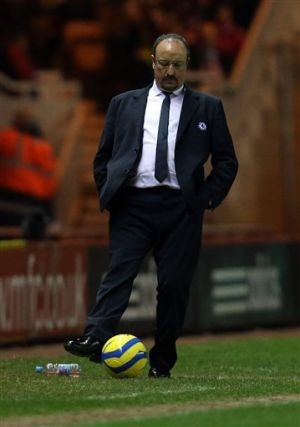 Benitez says he'll leave Chelsea at end of season
