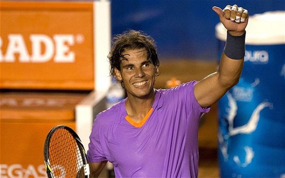 Nadal in 2nd round