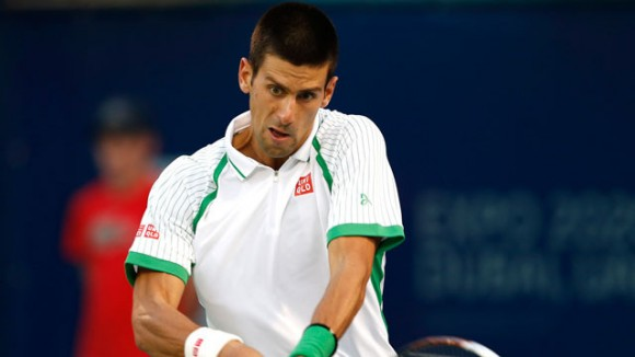 Djokovic tops Del Potro to reach Dubai final