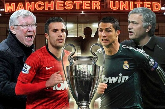 CHAMPIONS LEAGUE : Manchester United v Real Madrid