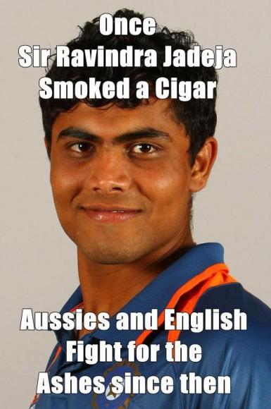 Sir Ravindra Jadeja :)