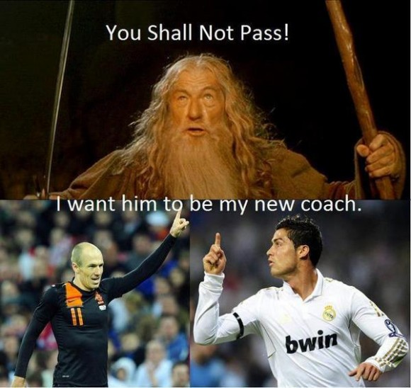 You Shall Not Pass......LOL