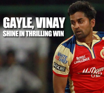 RCB dig deep to win a thriller against Mumbai Indians….