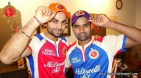 RCB.....Proud owners of both the caps.........
