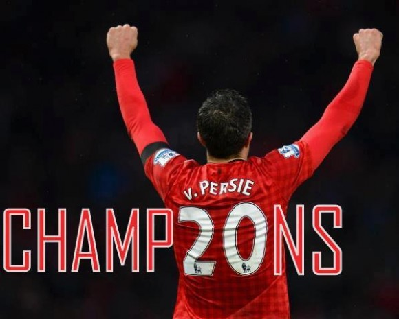 Manchester United Champions for the 20th time....the pic says it all....