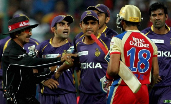 Gambhir's fumes doing defending champs no good