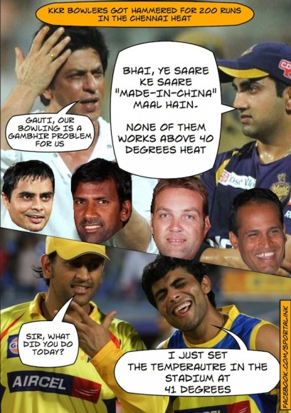 Why KKR bowlers failed against CSK