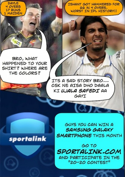 Ishant's bad day against CSK