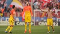 Barca celebrate title with Atletico comeback win