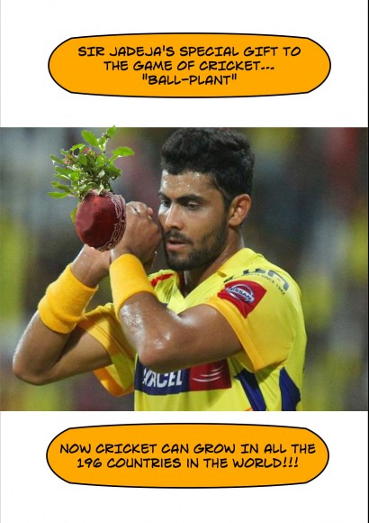 Sir Jadeja and the Ball-Plant