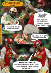 Punjab spoil RCB party with their win
