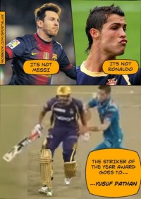 Yusuf Pathan - Striker of the Year
