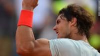 Nadal dismisses Djokovic's conqueror Berdych to reach Rome final