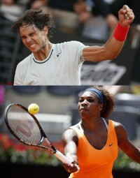 Nadal Beats Federer for Rome Masters Title as Serena Williams Rolls Past Azarenka