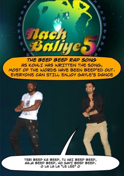Kohli as a special guest at Nach Baliye this week!