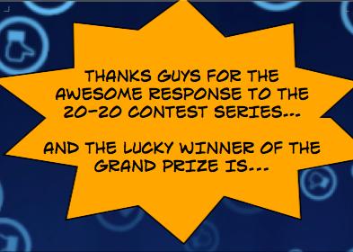 20-20 Contest Grand Prize