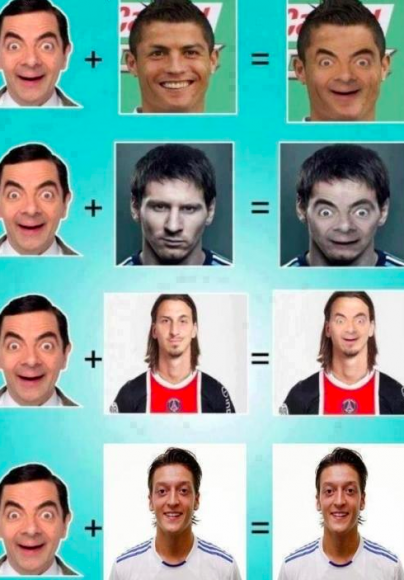 Mr Bean is all in