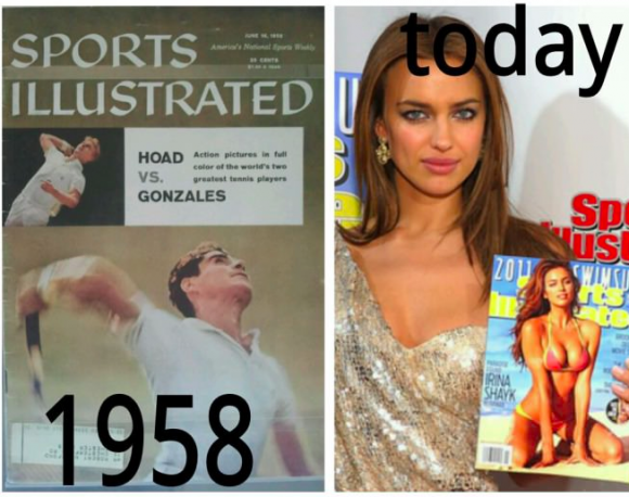 Sports Illustrated...Then and Now
