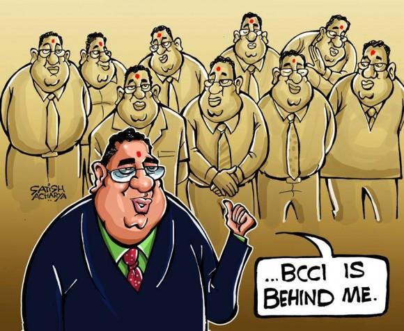 BCCI is behind Srini mama
