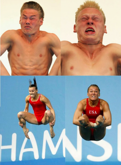 Funny Sports Faces