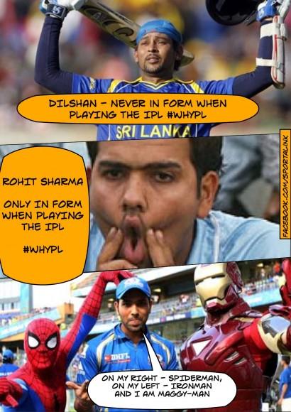 Rohit Sharma IPL vs ODIs