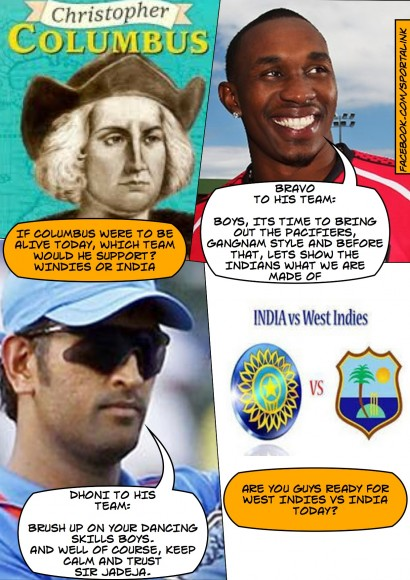 West Indies vs India - Are you guys ready for the epic contest?