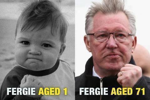 Sir Alex Ferguson - ageless