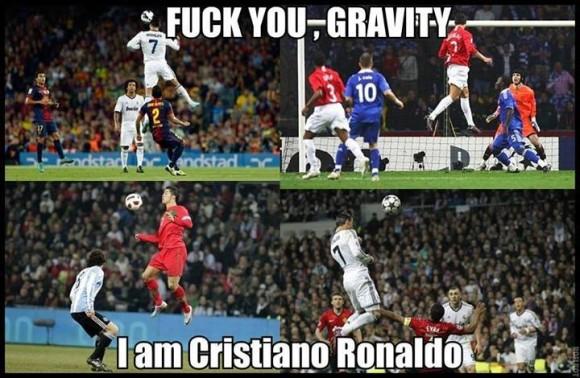 The laws of Cristiano Ronaldo