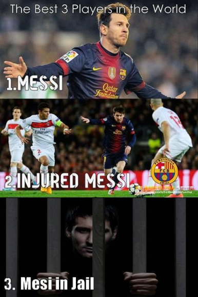 The 3 best players in the world