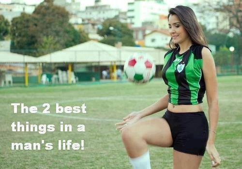 2 best things in a man's life