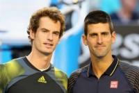 No. 1 Djokovic, No. 2 Murray building Slam rivalry
