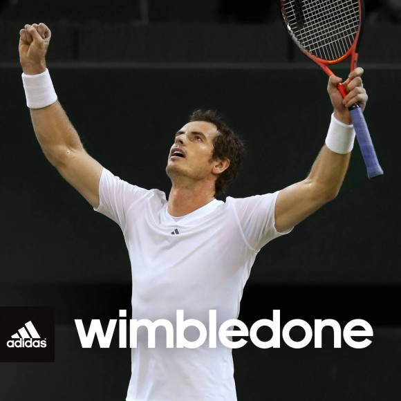 And its Wimbledone.....Sir Andy Murray breaks the 77 year drought
