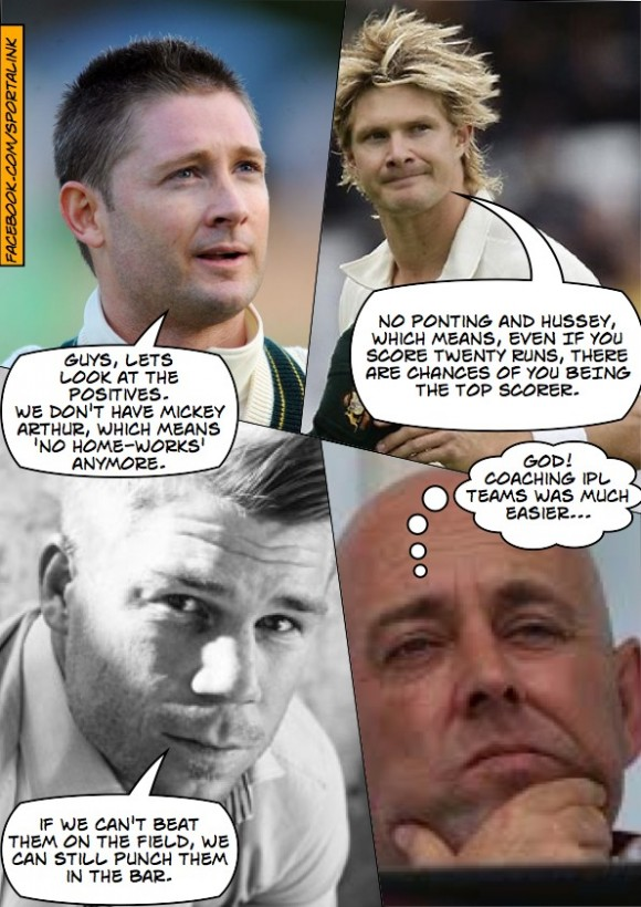 Aussies have got Ashes Fever