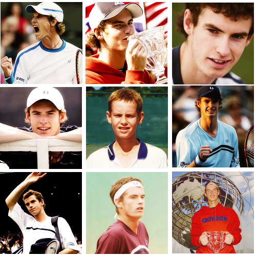 Andy Murray - The Wimbledon champ over the years