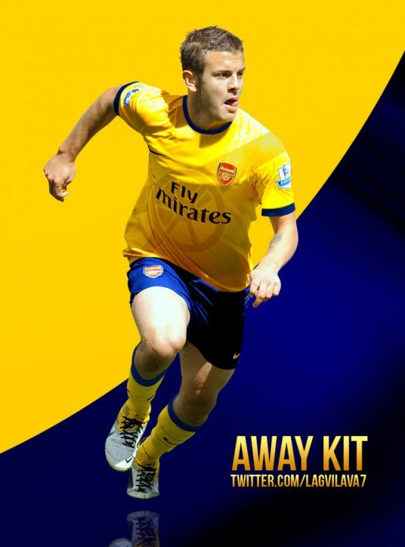 Arsenal reveal their new away kit.  The kit looks classy for sure.