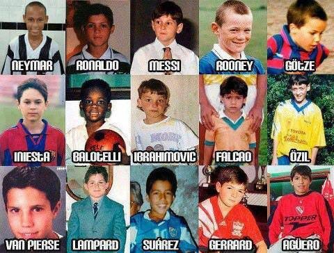 Back in time with the Football Stars