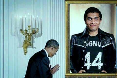 Sir Jadeja at White House
