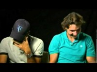 Federer and Nadal - ROFL - Absolutely Hilarious