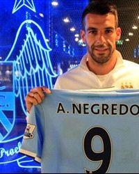 BREAKING NEWS: Manchester City confirm Negredo capture
