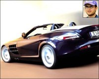 Cars our cricketers drive - Sourav Ganguly - Mercedes Convertible