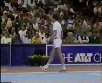 John Mcenroe goes ballistic at the umpire