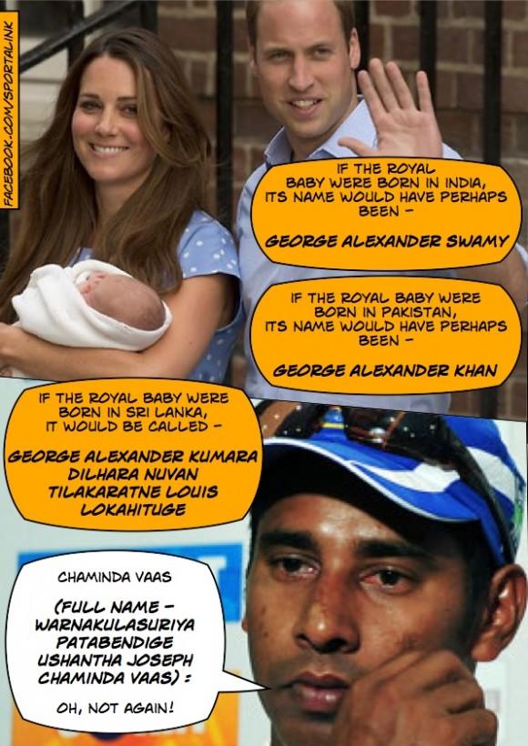 Royal baby name in sri lanka