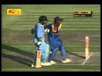 Sachin Tendulkar 101(140) vs Sri Lanka in the CocaCola Trophy 2000