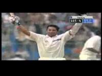 Sachin Tendulkars 176 vs WI 3rd Test Kolkata 2002 Test Century No 31
