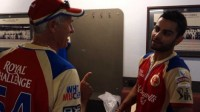 RCB Locker Room after Big Victory over Sunrisers with Virat Kohli