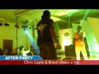 Chris Gayle & Bravo - Dance on Hindi Song